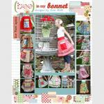 Sew Cherry Fabric Pink Stripe from ..