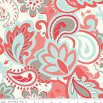 French Verona Fabric Rouge from Ril..