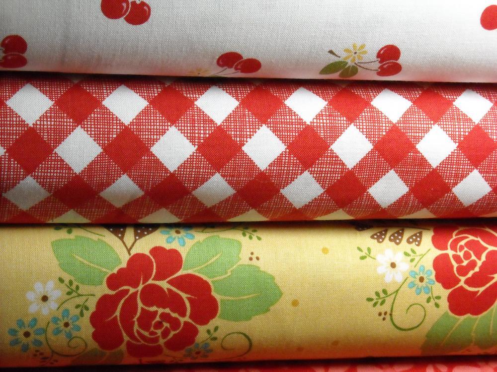 Save! Sew Cherry Fabric 3 Yard Bundle
