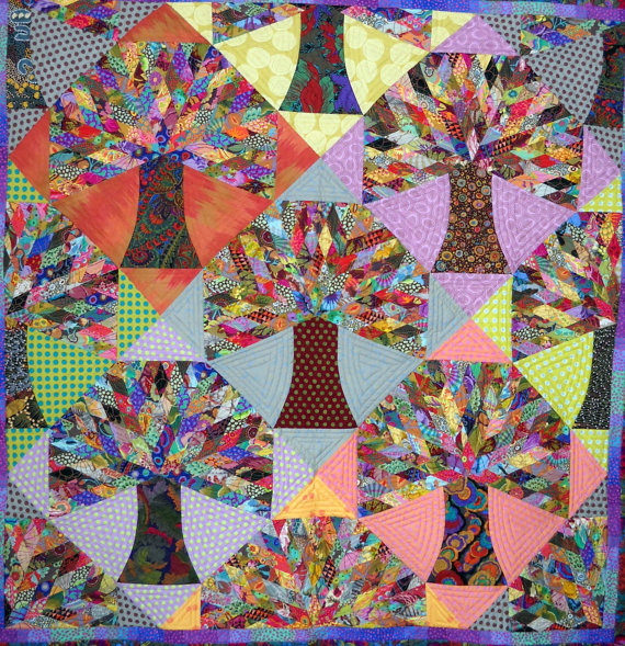 Acorn's Promise Quilt and Wallhanging Pattern from Kerry Stitch Designs
