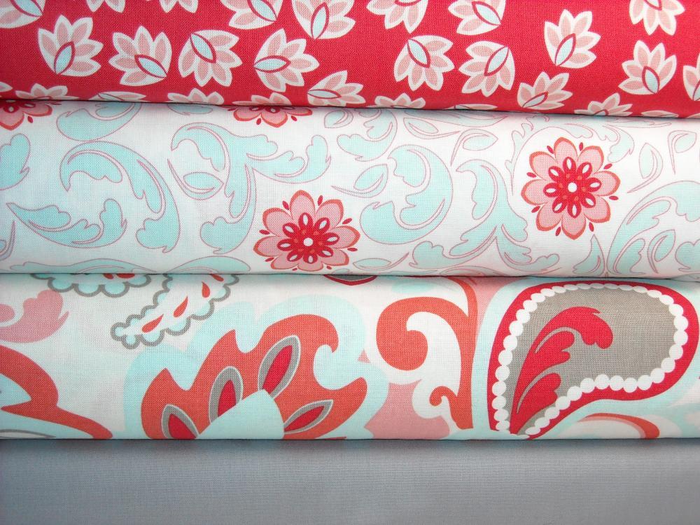 Verona Fabric Rouge 4 Yard Combo Save From Riley Blake Designs